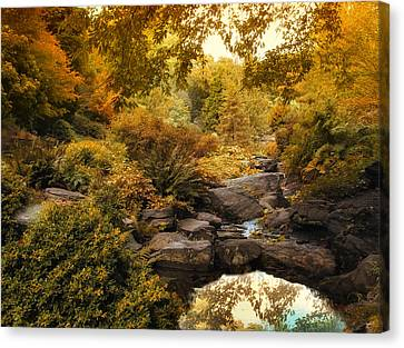 Russet Rock Garden Canvas Print by Jessica Jenney