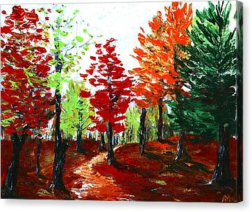 Autumn Canvas Print by Anastasiya Malakhova
