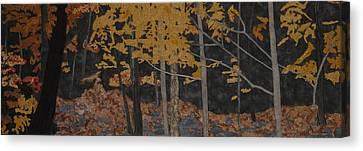 Autumn Carpet Canvas Print by Anita Jacques