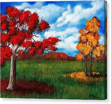Autumn Colors Canvas Print by Anastasiya Malakhova