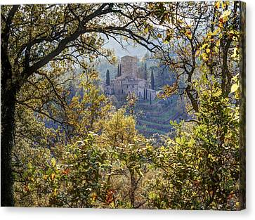 Autumn In Chianti Canvas Print by Eggers   Photography