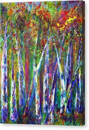 Autumn In Muskoka Canvas Print by Claire Bull