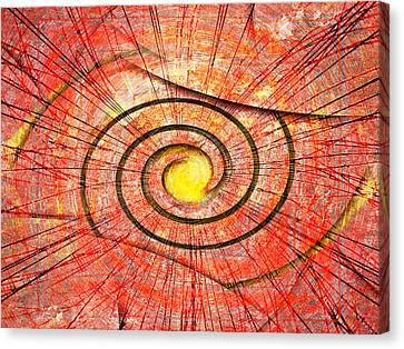 Autumn Joy Canvas Print by Florin Birjoveanu
