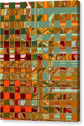 Autumn Leaves 8 Canvas Print by Brooks Garten Hauschild
