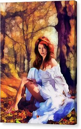 Autumn Canvas Print by Marina Likholat