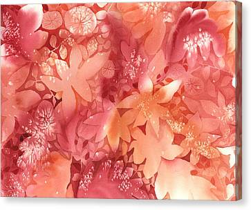 Autumn Monochrome Canvas Print by Neela Pushparaj