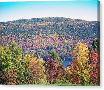 Autumn Mountain Canvas Print by Aimee L Maher Photography and Art Visit ALMGallerydotcom