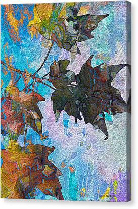 Autumn Quilt Canvas Print by Jo-Anne Gazo-McKim