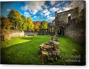 Autumn Ruins Canvas Print by Adrian Evans