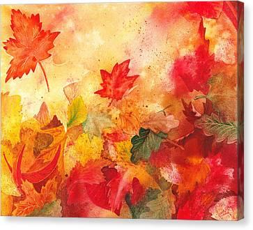 Autumn Serenade  Canvas Print by Irina Sztukowski