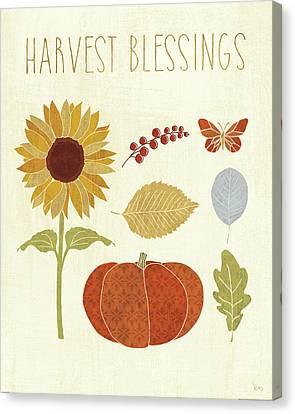 Autumn Song Vi Canvas Print by Veronique Charron