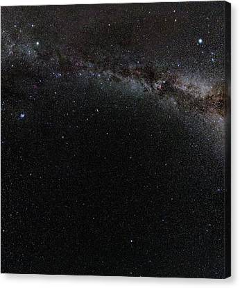 Autumn Stars Without Light Pollution Canvas Print by Eckhard Slawik