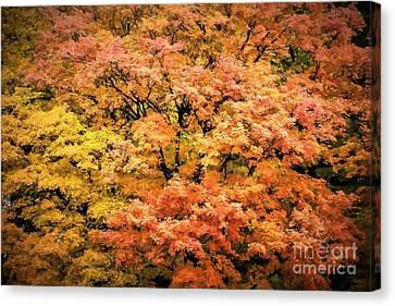 Autumn Tapestry Canvas Print by Henry Kowalski