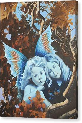 Autumn Turning. Canvas Print by Vivien Rhyan
