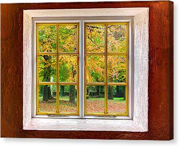 Autumn View Canvas Print by Semmick Photo