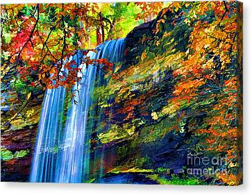 Autumns Calm Canvas Print by Darren Fisher