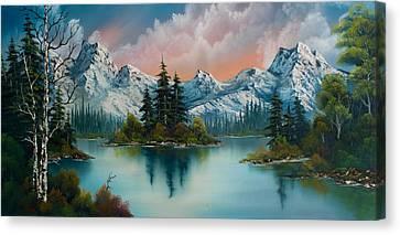 Autumn's Glow Canvas Print by C Steele