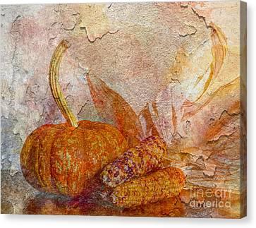 Autumn's Warmth Canvas Print by Heidi Smith