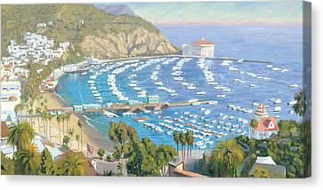 Avalon Panorama Canvas Print by Steve Simon