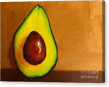 Avocado Palta Vi Canvas Print by Patricia Awapara
