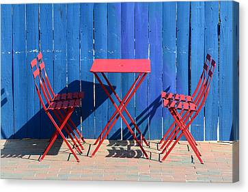 Awaiting Canvas Print by