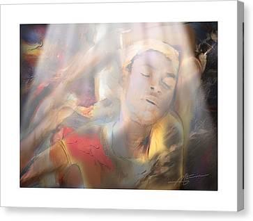 Awakening Canvas Print by Bob Salo