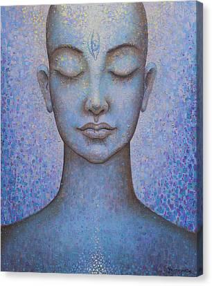 Awakening Canvas Print by Vrindavan Das