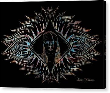 Axl Rose  Canvas Print by Louis Ferreira
