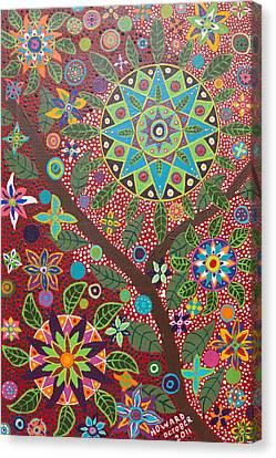 Ayahuasca Vision Canvas Print by Howard Charing