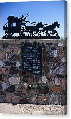 Az007 - Wickenburg Massacre Canvas Print by Jason O Watson