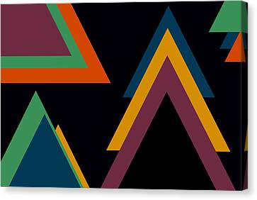 Aztec 2 Canvas Print by Chastity Hoff