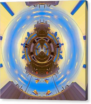 B-427 Daylight Holdings 1 Canvas Print by Wendy J St Christopher