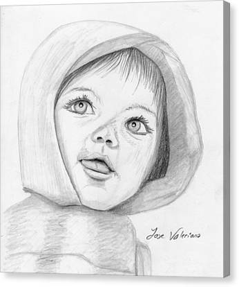 Baby Canvas Print by M Valeriano