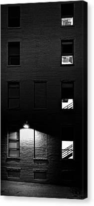 Back Alley 330am Canvas Print by Bob Orsillo