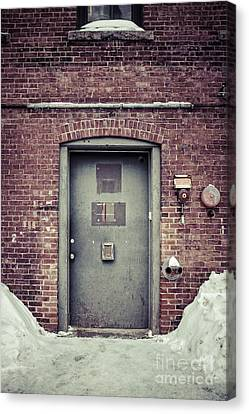 Back Door Alley Way Canvas Print by Edward Fielding