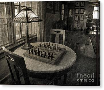 Back In Time Canvas Print by Arlene Carmel