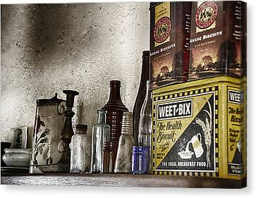 Back In Time Canvas Print by Douglas Barnard