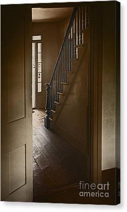 Back Stairway Canvas Print by Margie Hurwich