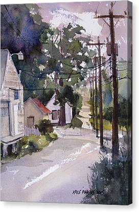 Backstreet Canvas Print by Kris Parins