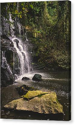 Bajouca Waterfall Ix Canvas Print by Marco Oliveira