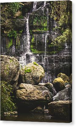 Bajouca Waterfall Viii Canvas Print by Marco Oliveira