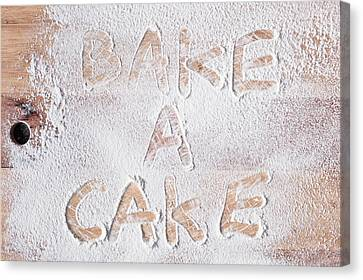 Bake A Cake Canvas Print by Tom Gowanlock