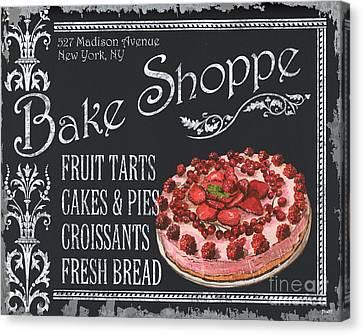 Bake Shoppe Canvas Print by Debbie DeWitt