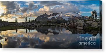 Baker Dusk Cloudscape Canvas Print by Mike Reid