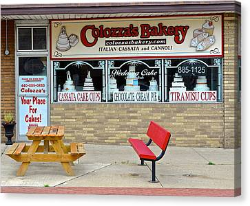 Bakery Fresh Canvas Print by Frozen in Time Fine Art Photography