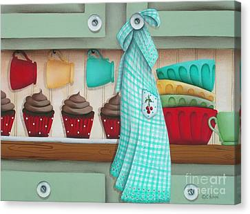 Baking Day Canvas Print by Catherine Holman