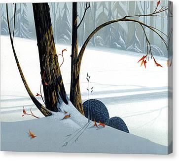 Balancing Act  Canvas Print by Michael Humphries