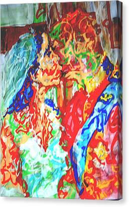 Balcony Kiss Canvas Print by Godfrey McDonnell
