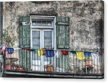 Balcony View Canvas Print by Brenda Bryant