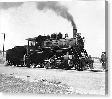 Baldwin Locomotive 250 Canvas Print by Underwood Archives